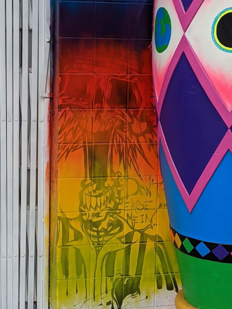 detail on Love on Haight's exterior